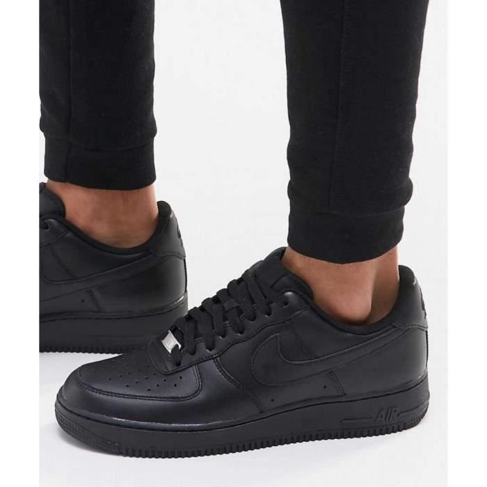 the best attitude bac38 10b2c BASKET Baskets Nike Air Force 1 Low Noirs 315122-001.