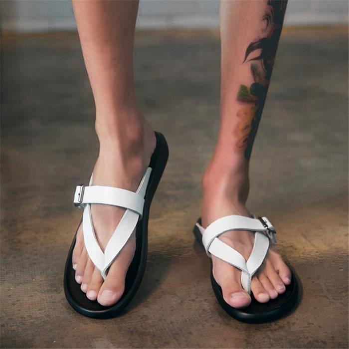 D'été De Sandales Chaussures Romain Mode Homme Plage Hommes 2019 kn0wPO