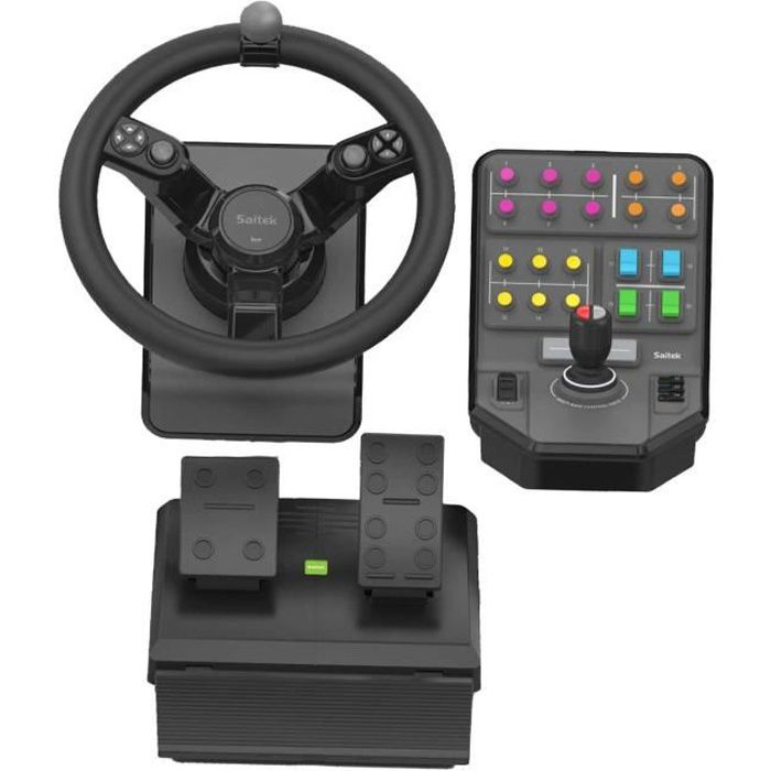 JOYSTICK - MANETTE SAITEK Farm Sim Controller Simulateur de tracteur