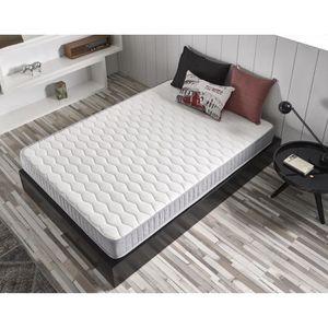matelas mousse 90 x 190 cm achat vente matelas mousse 90 x 190 cm pas cher soldes d s le. Black Bedroom Furniture Sets. Home Design Ideas