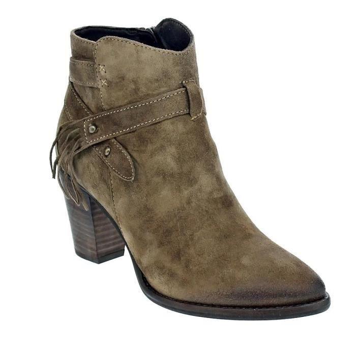 Chaussures femme bottillons modèle Alpe 3452116324975_79443