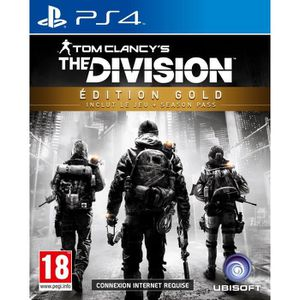 JEU PS4 The Division Edition Gold Jeu PS4