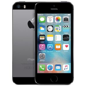 SMARTPHONE RECOND. IPHONE 5S NOIR 32GO REMIS A NEUF