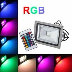PROJECTEUR EXTÉRIEUR 30w LED Projecteur RGB Couleur Exterieur IP65 Etan 7f29e0ed41f8