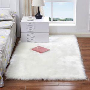 TAPIS Blanc Tapis Salon Carpet Tapis Chambre Du0027enfant Mo