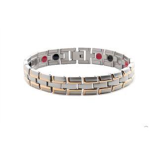 BRACELET - GOURMETTE Bracelet unisexe magnétique anti -douleurs anti -f