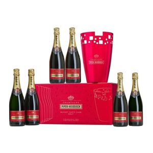 CHAMPAGNE Champagne Piper-Heidsieck Brut Signature 6 x 75 cl