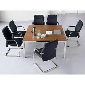 TABLE DE RÉUNION Table de conférence carrée - h x L x l 720 x 1400
