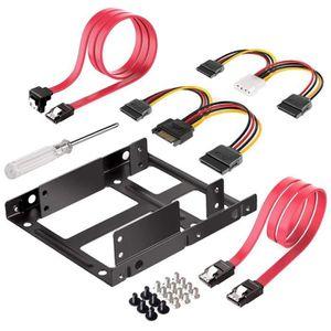 DISQUE DUR SSD DITM® Kit de Montage pour 2 x 2.5 (Disque Dur ou S