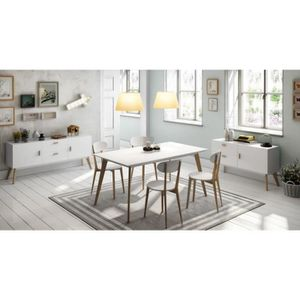 Table salle a manger style scandinave - Achat / Vente pas cher