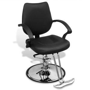 fauteuil de coiffure barbier fauteuil de coiffure professionnel rglable en cui - Chaise Salon Pas Cher