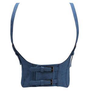 CEINTURE ET BOUCLE Faux cuir Mode féminine élastique large bande Cein 4c6fa91eb19