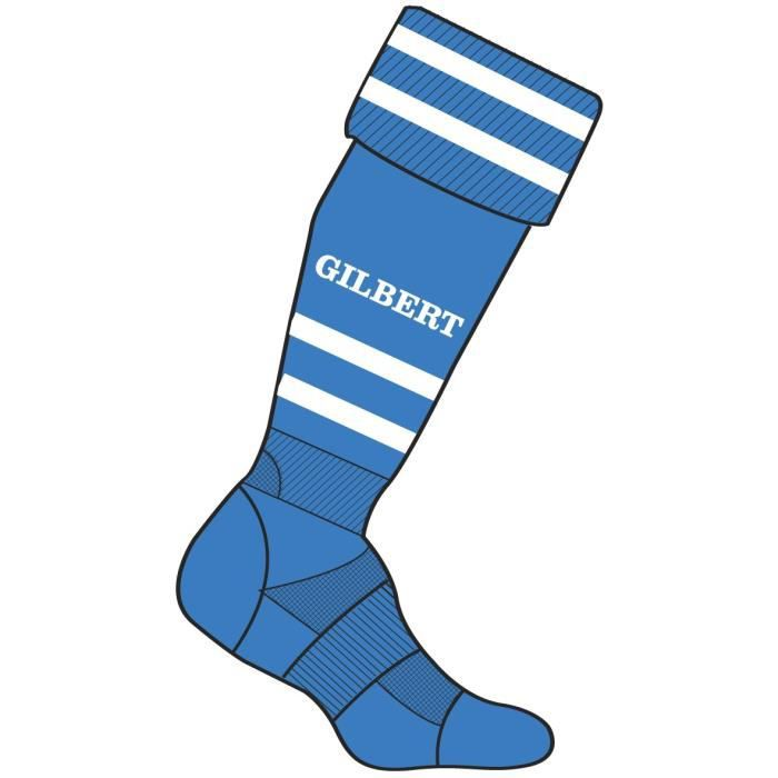 CHAUSSETTES DE RUGBY GILBERT Chaussettes Rugby Homme RGB