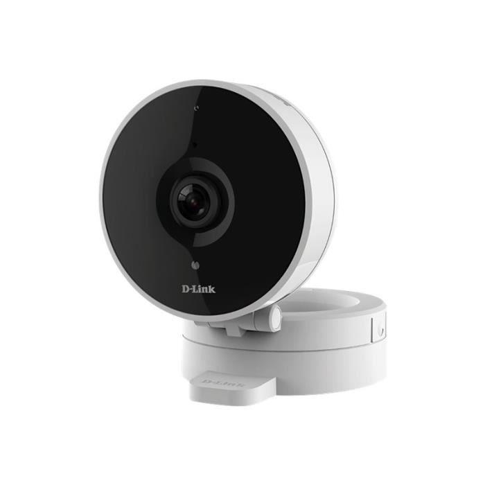 Caméra de surveillance réseau D-Link DCS 8010LH - Intérieur couleur (Jour et nuit) 1 MP 1280 x 720 - Focale fixe - Audio sans fil