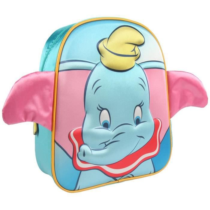 DISNEY Sac à Dos Dumbo 3D Enfant