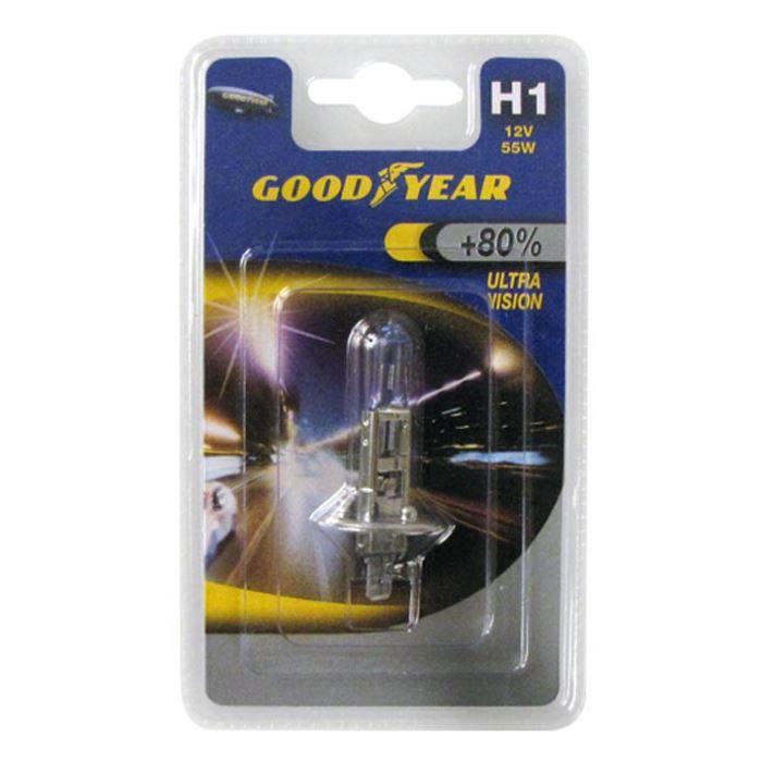 GOOD YEAR Ultra Vision 2 ampoules feux de croisement 12v 55W H1