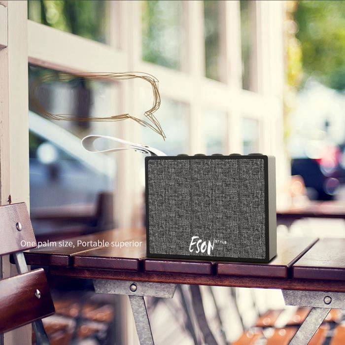 X9s Smart Wifi Bluetooth Haut-parleurs Commande Vocale Micro Haut-parleur Portable Sans Fil_mo3946