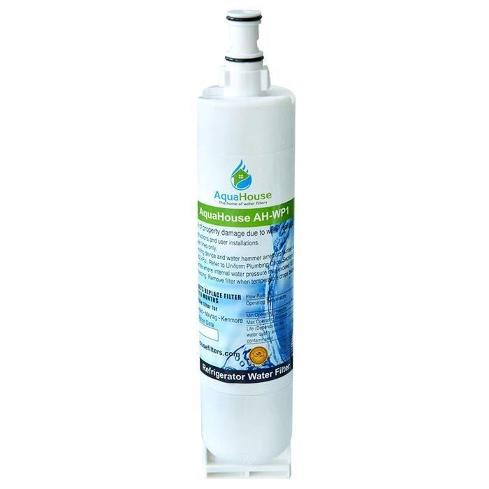 PIÈCE APPAREIL FROID  AquaHouse AH-WP1 filtre à eau compatible pour Whir