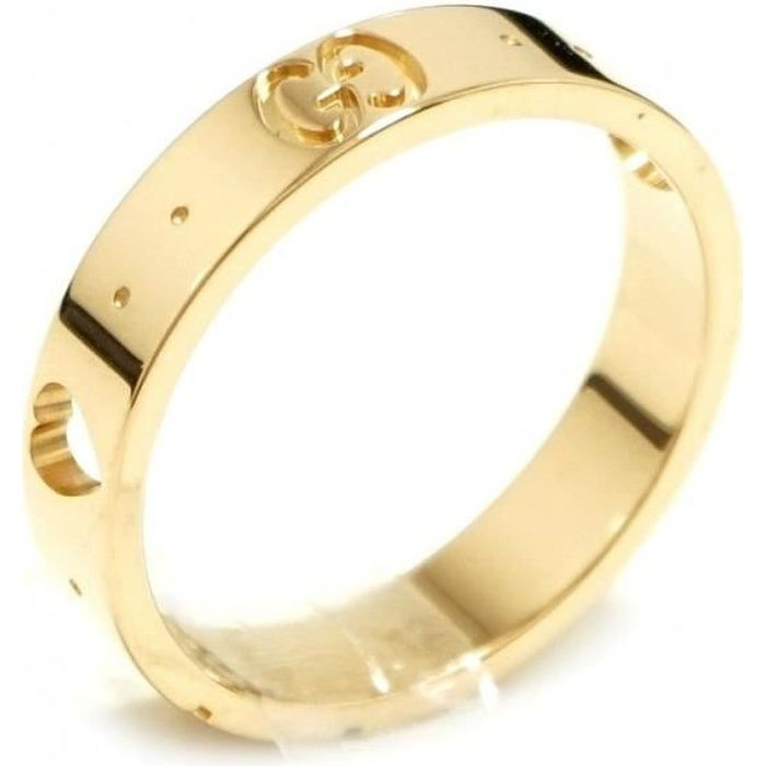 Gucci - GUCCI BAGUE ICÔNE AMOR OR JAUNE 18 carats taille 14 212502 J8500  8000 5ccb93cdbcf
