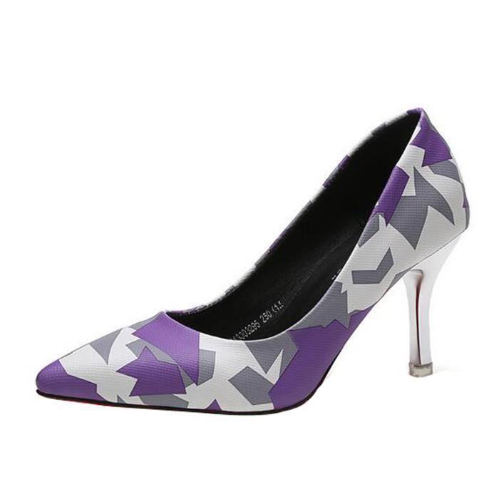 prix modéré le dernier large choix de couleurs Escarpins Femme Talons Hauts Escarpins Colores ...