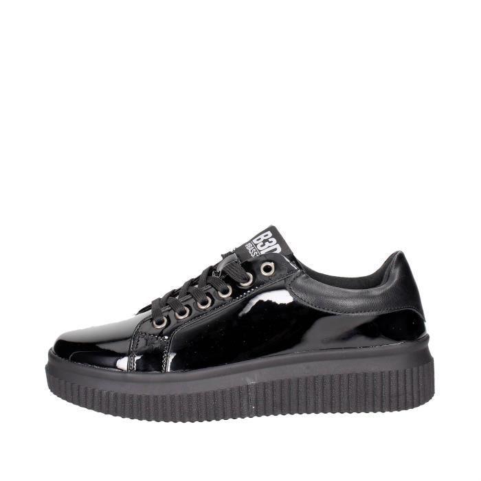 Bass3d Sneakers Femme Noir, 39