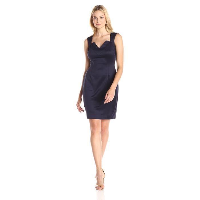 Craze femmes chevrons rayures de gradient de triangle divisé retour mini robe DEDNT