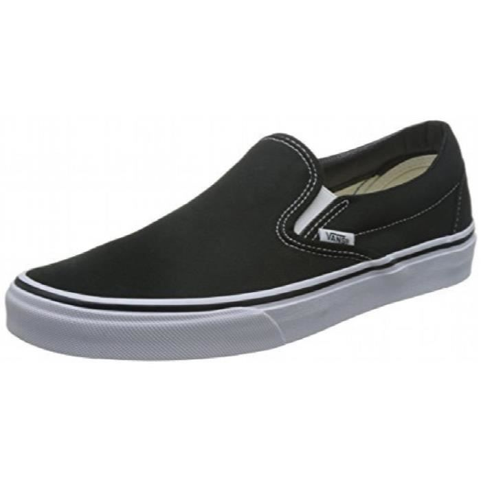 Chaussures à élastique Vans Slip On blanches Casual unisexe yyCrNMBaNn