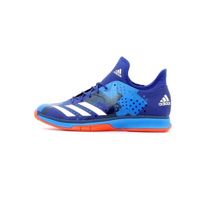 innovative design d32c5 5dfe2 Chaussure de handball Adidas Counterblast Bounce coloris Mystery Ink -  Footwear White - Solar Red