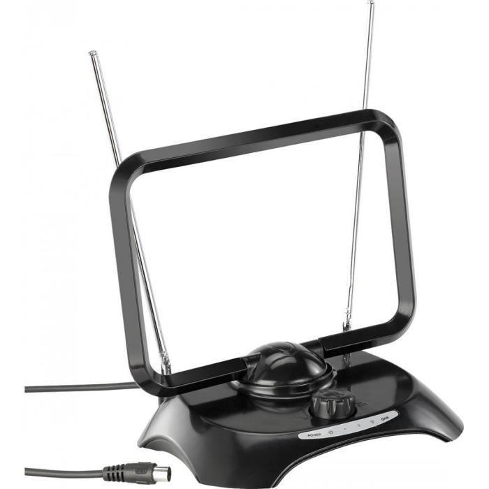 Antenne active DVB-T ''TX-300.tr'' pour TNT et radio