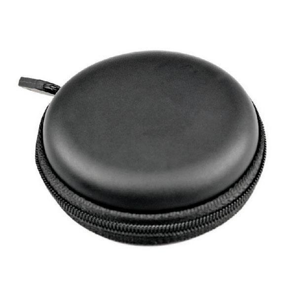 De À Casque Étui Portable Dur Les noir Écouteurs Sac Ipod Rangement Fermeture Éclair Pour Mp3 wYSnFq