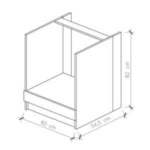 meuble pour plaque de cuisson achat vente meuble pour plaque de cuisson pas cher cdiscount. Black Bedroom Furniture Sets. Home Design Ideas