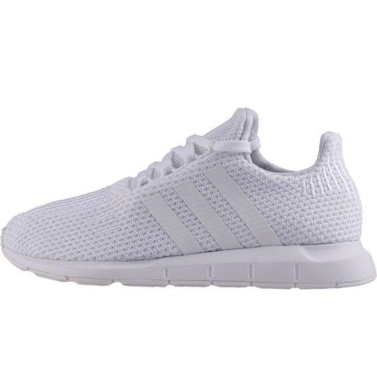 Adidas Swift Run femmes Baskets Blanc - - - 6 UK Blanc Blanc - Achat   Vente basket 1f0a0a
