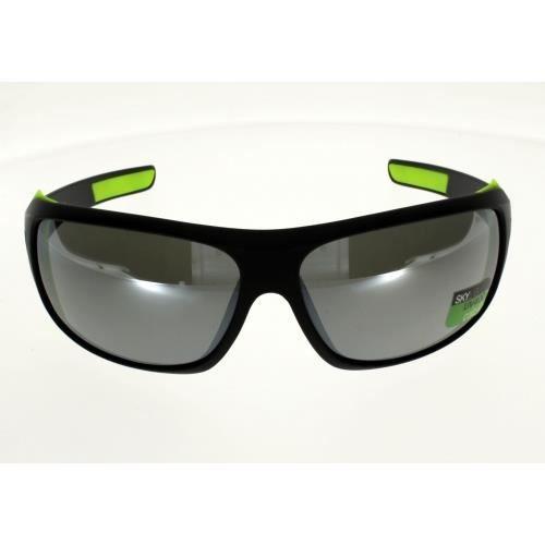 ALTITUDE Modèle ICEPARK Noir Vert : ultra couvrant avec coques amovibles Mixte Indice 4 spécial forte luminosité et grands visages