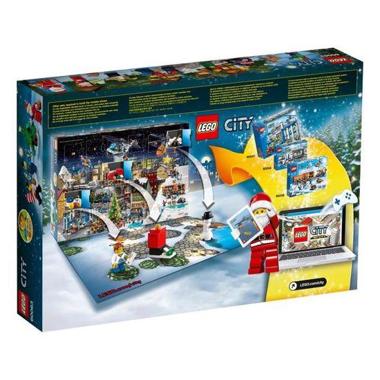 De Achat Lego City Vente Calendrier 60063 L'avent Le TPkiOXuZ