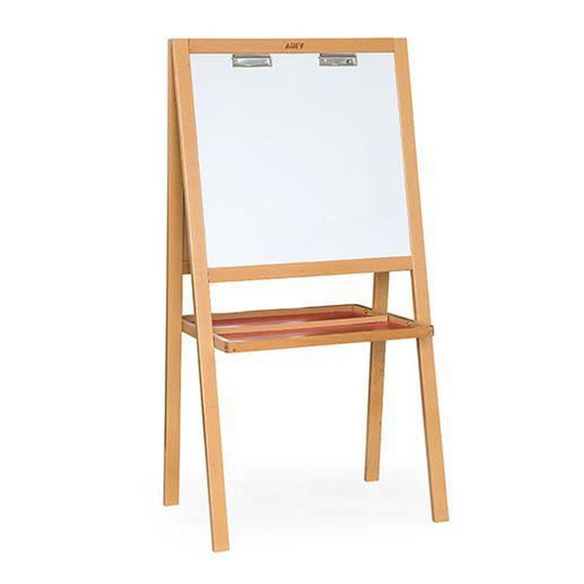 tableau bureau double en bois avec accessoires enfant 3+ standing