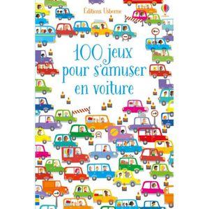 LIVRE JEUX ACTIVITÉS 100 jeux pour s'amuser en voiture