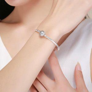 MAILLON DE BRACELET Bracelet en argent 925 sterling AAA CZ Femmes serp