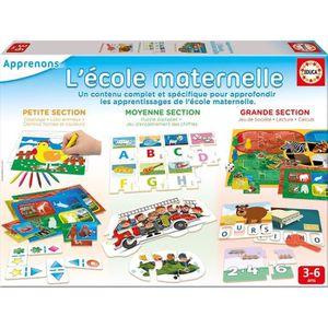 JEU D'APPRENTISSAGE EDUCA Kit L'École Maternelle