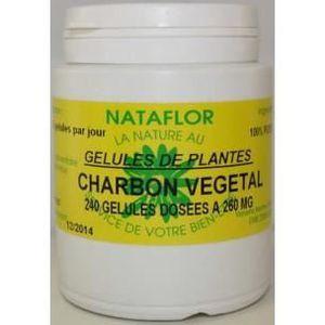 DIGESTION - TRANSIT  GELULES CHARBON végétal 240 gélules dosées à 260 m