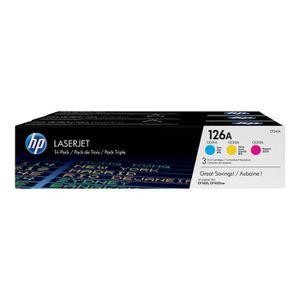 TONER Toner HP LaserJet 126A - 3 Couleurs (CF341A)