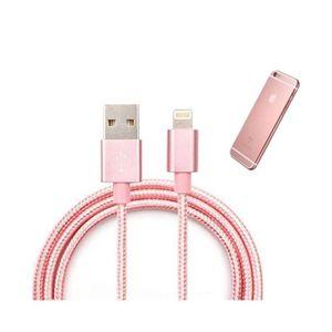 CÂBLE TÉLÉPHONE CABLE USB DATA NYLON TRESSE POUR IPHONE 5/5S/5C/6/
