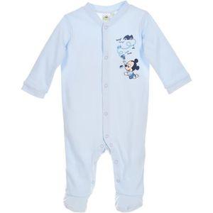 PYJAMA Pyjama bébé Garçon MICKEY - 100% coton Bleu Disney
