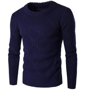 0d2904cdc4228 PULL Pull Braided Homme Noir Marque Luxe Tricot Pullove