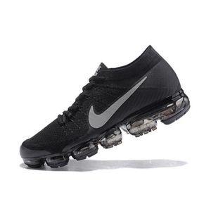 new concept d1866 7caa9 ... Chaussures Noir et Gris. BASKET Basket Nike Flyknit Air Vapormax Sports  de Homme C