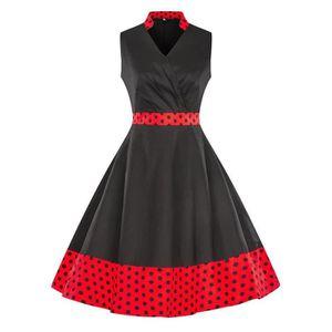 ROBE Pays Vintage printemps Boho Vintage Rock robe de c