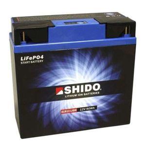 BATTERIE VÉHICULE Batterie Lithium Shido 51913