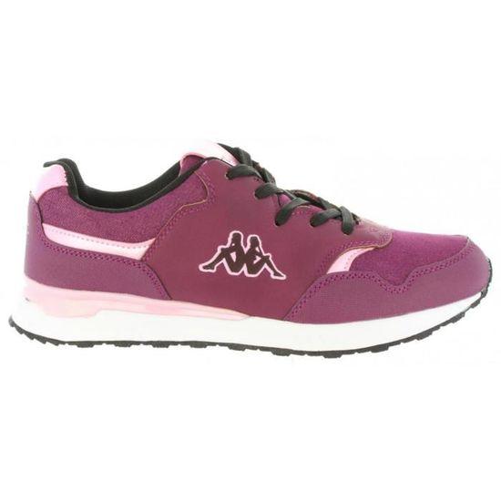 Chaussures de sport pour Femme KAPPA 303XZL0 CARTAGO 932 PRUNE Bleu Bleu - Achat / Vente chaussures multisport