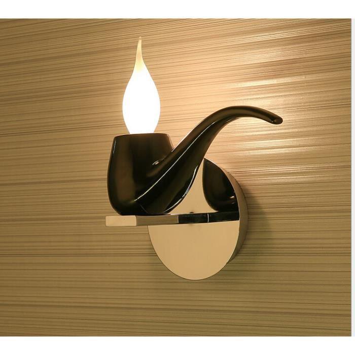 Ledgle Applique Murale Lampe De Chevet Original Noir Achat