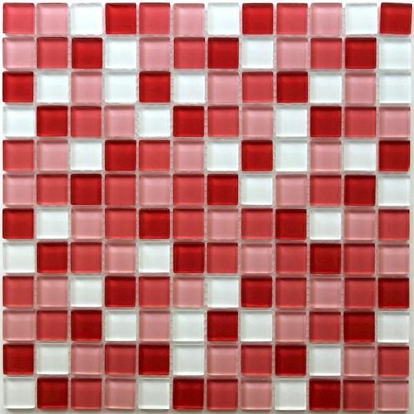 Mosaique En Verre Pour Douche Et Salle De Bain Mv Achat Vente Carrelage Parement Mosaique