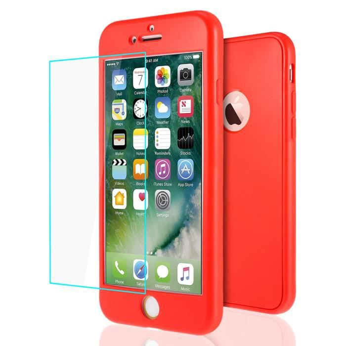 coque iphone 7 film protection